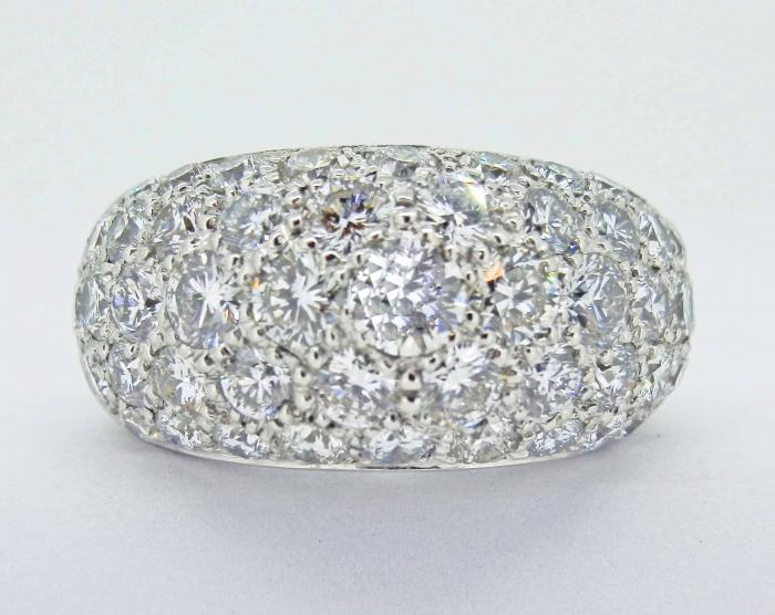 BAGUE BOULE 4.52 cts DIAMANTS