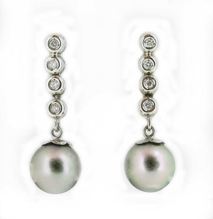 BO Pendentes perles de tahiti