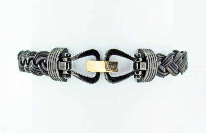 Bracelet en poils d'éléphant