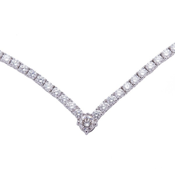 Collier serti de diamants