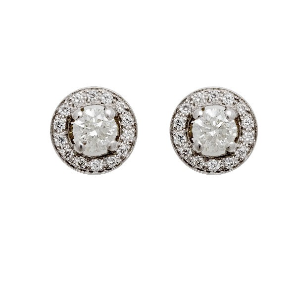 BOUCLES D'OREILLE DIAMANTS