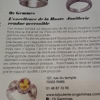 article gala OrGemmes