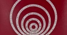 Pendentif cercles concentriques