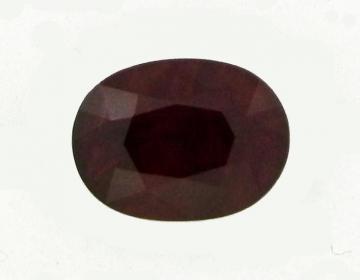Rubis 4.23 carats de BIRMANIE certifié CGL