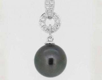 pendentif perle de tahiti ronde