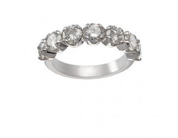 Demie Alliance sertie de diamants