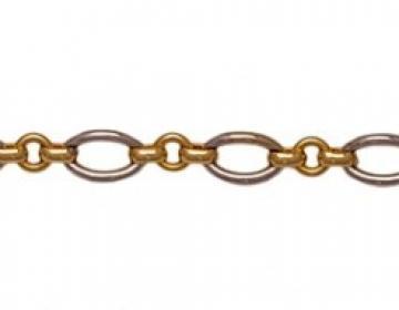 Bracelet femme bicolore
