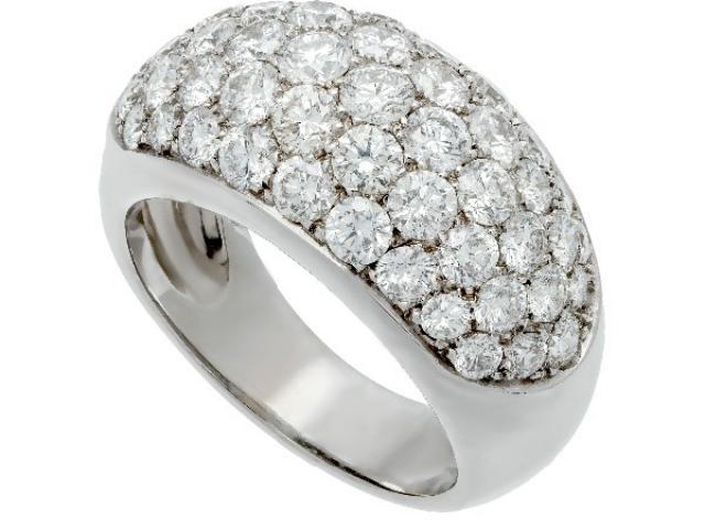 bague boule diamants Or-Gemmes