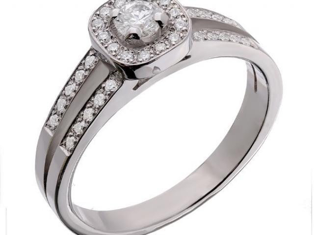 Bague diamants Or-Gemmes