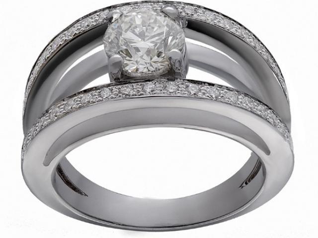 Bague solitaire diamant Or-Gemmes
