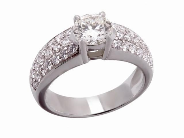 bague de fiançailles diamants Or-Gemmes