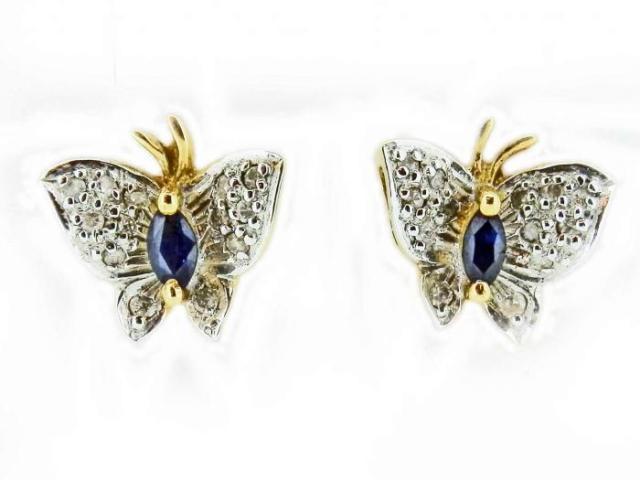 BO Papillons saphir