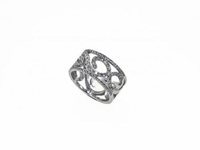 Bague Alcazar diamants or 18 carats or-gemmes