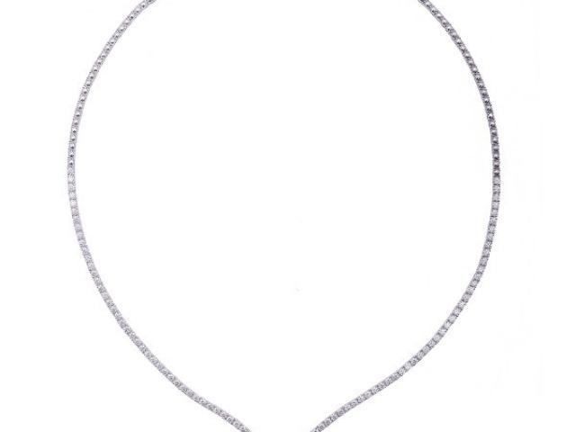 Collier serti de diamants