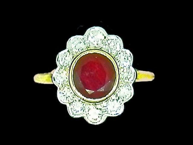 Bague style Marquise